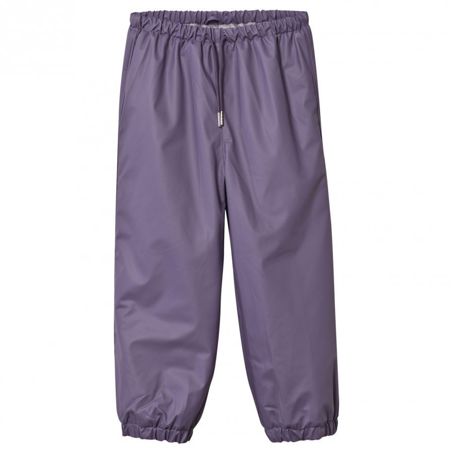 Mini A Ture Robin Lined Rain Pants Purple Heart Sadehousut