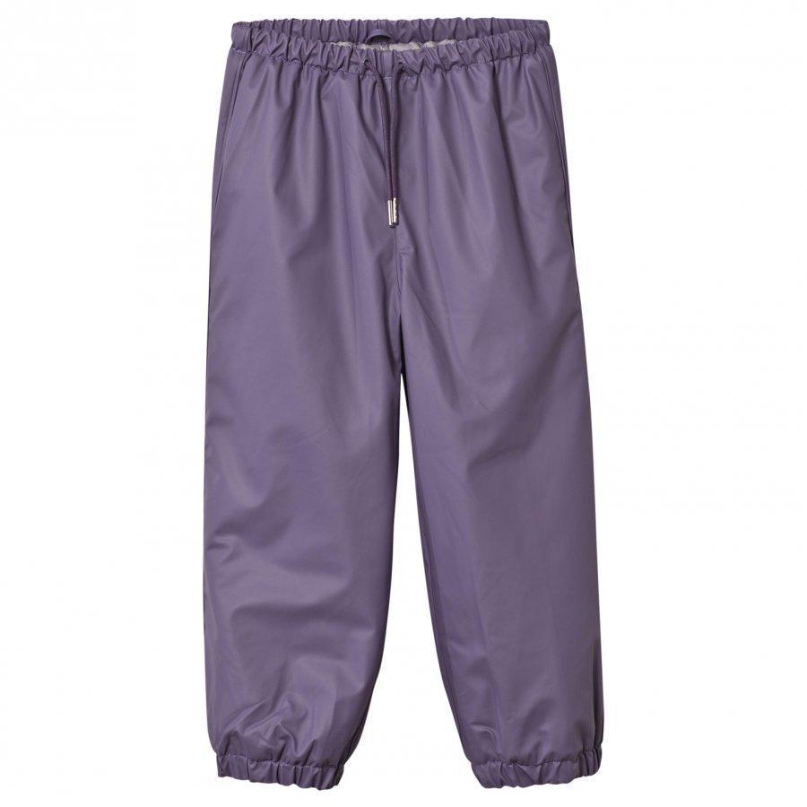 Mini A Ture Robin Lined Rain Pants Purple Heart Sadehousut