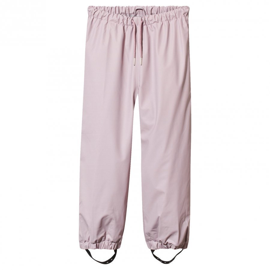 Mini A Ture Robin Lined Rain Pants Violet Ice Sadehousut