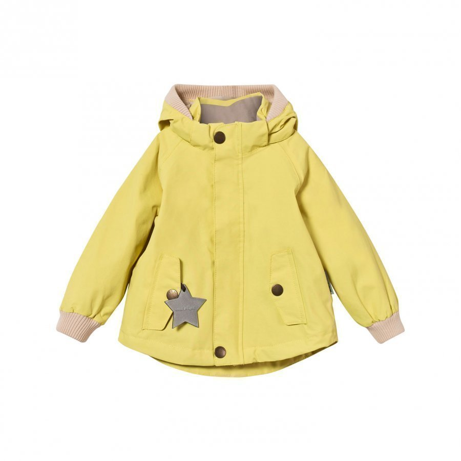 Mini A Ture Wally M Jacket Endive Yellow Kuoritakki