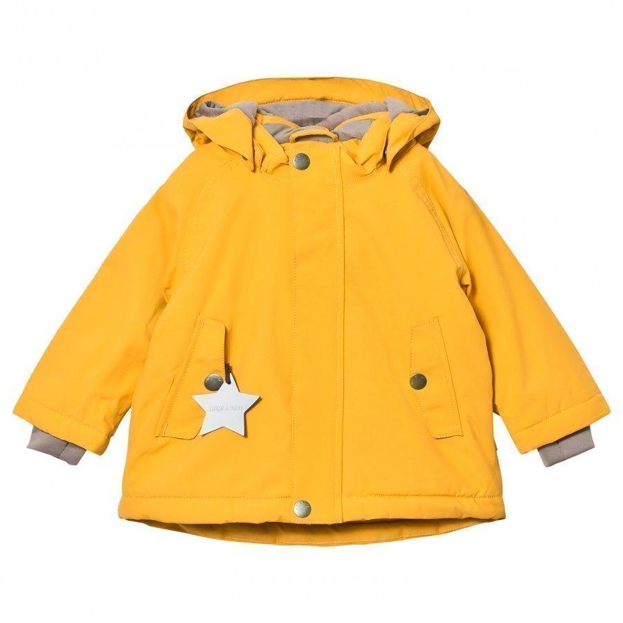 Mini A Ture Wally Mk Jacket Mineral Yellow Talvitakki