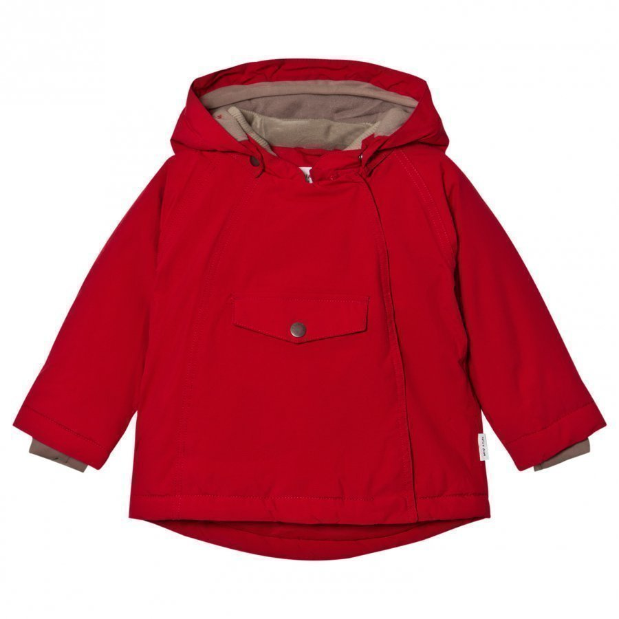 Mini A Ture Wang Jacket Scooter Red Toppatakki