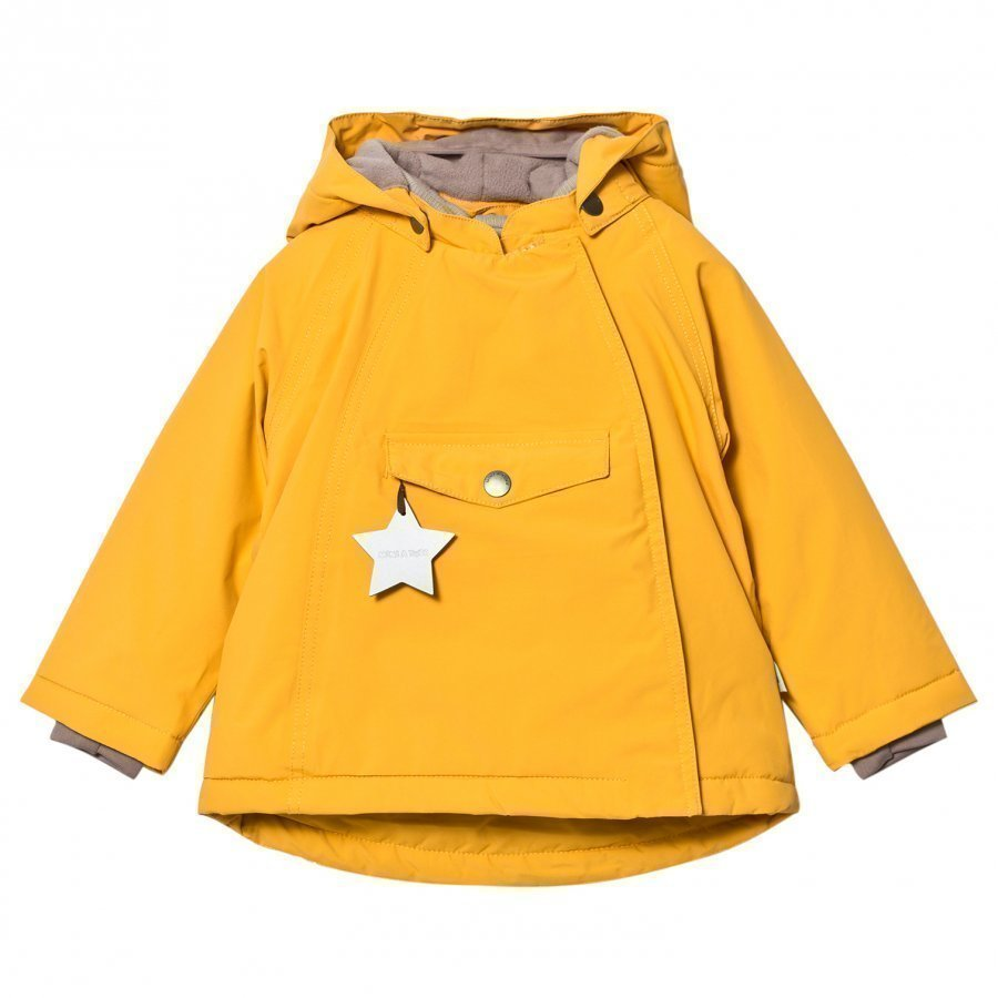 Mini A Ture Wang M Jacket Mineral Yellow Toppatakki