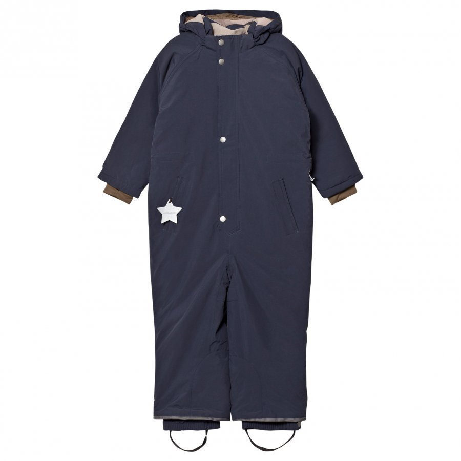 Mini A Ture Wanni K Snowsuit Blue Nights Toppahaalari