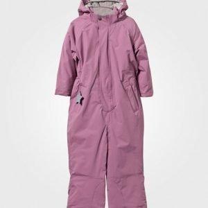 Mini A Ture Wanni K Snowsuit Mellow Mauve Toppahaalari