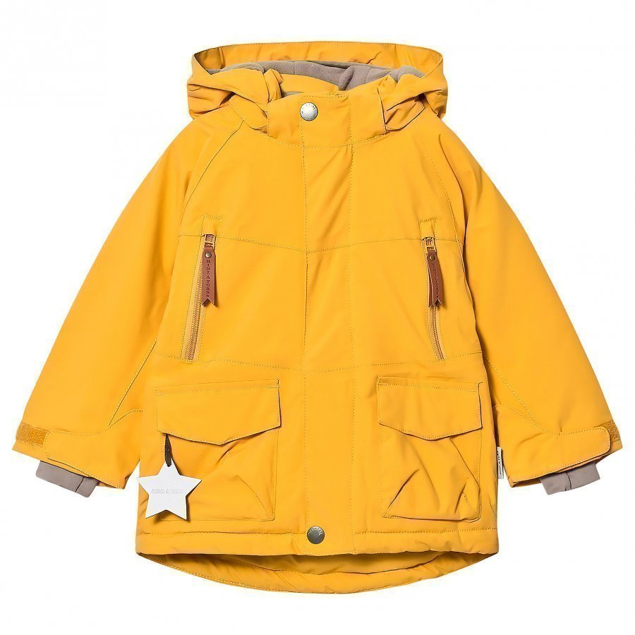 Mini A Ture Wille K Jacket Mineral Yellow Talvitakki