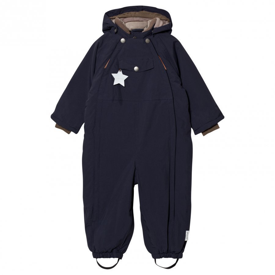 Mini A Ture Wisti M Snowsuit Blue Nights Toppahaalari