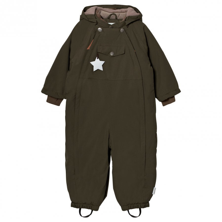 Mini A Ture Wisti M Snowsuit Grape Leaf Toppahaalari