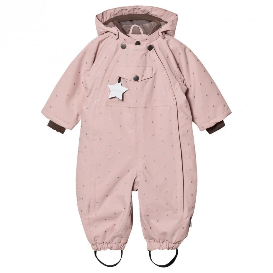 Mini A Ture Wisti M Snowsuit Rose Smoke Toppahaalari