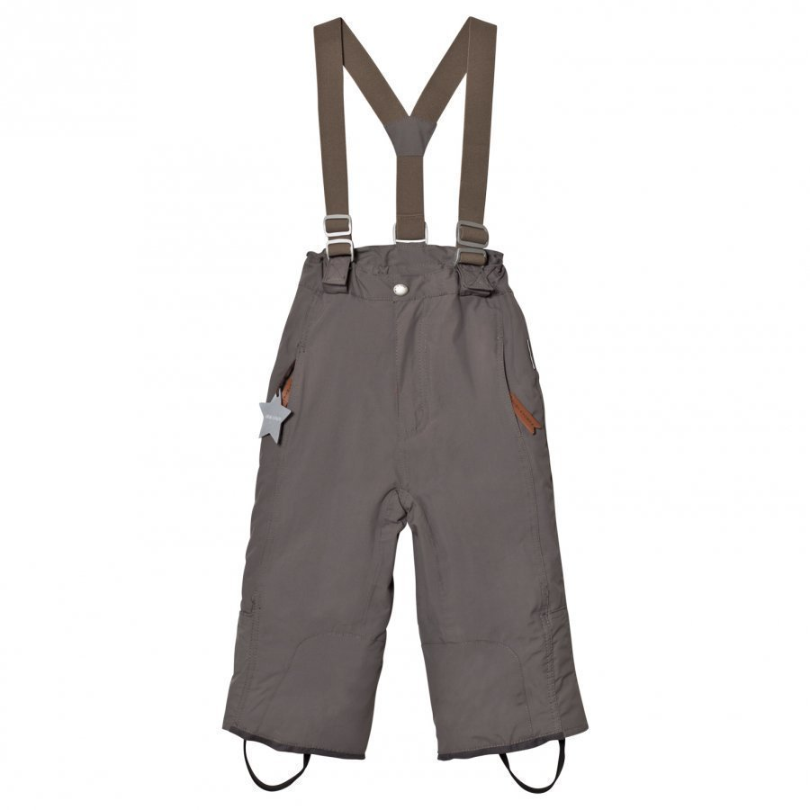 Mini A Ture Witte K Pants Steel Grey Toppahousut
