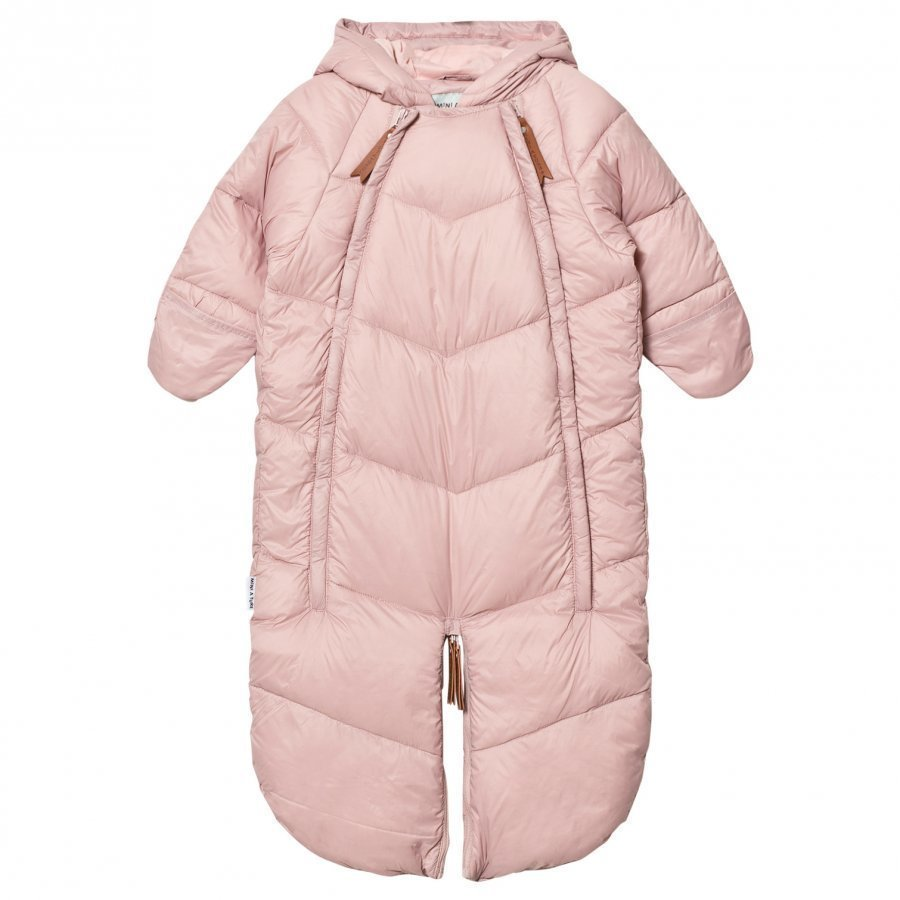 Mini A Ture Yoko B Coverall/Sleeping Bag Pale Mauve Toppahaalari