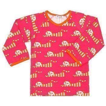 Mini Cirkus Cat pitkähihainen T-paita t-paidat pitkillä hihoilla