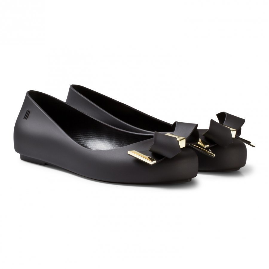 Mini Melissa Mel Space Love Black Ballerinat