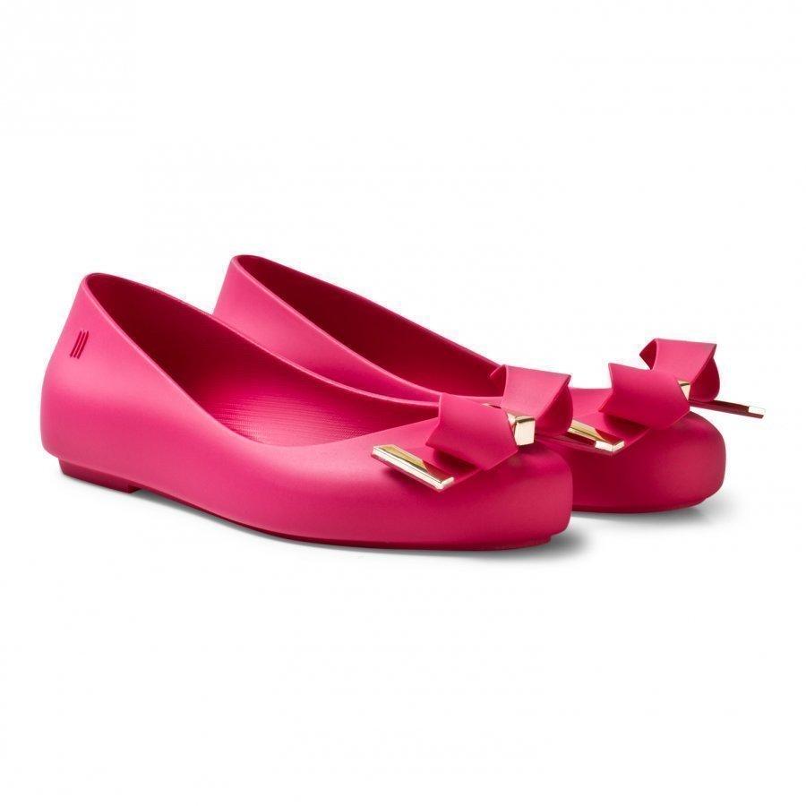 Mini Melissa Mel Space Love Pink Ballerinat