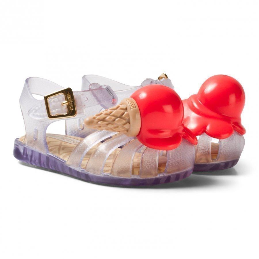 Mini Melissa Mini Aranha X Clear Sandaalit