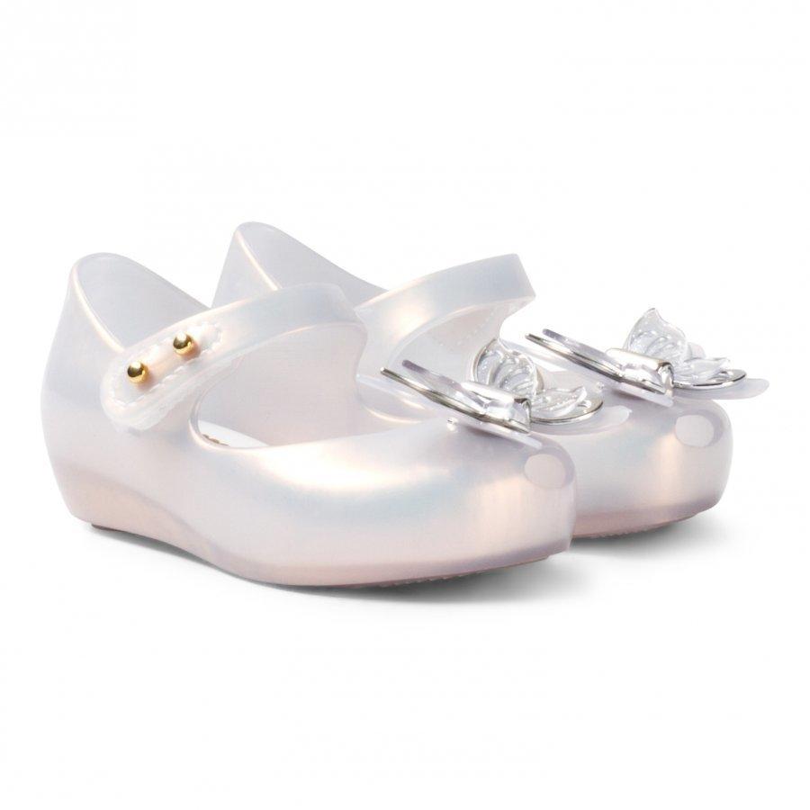 Mini Melissa Mini Ultragirl Fly White Ballerinat