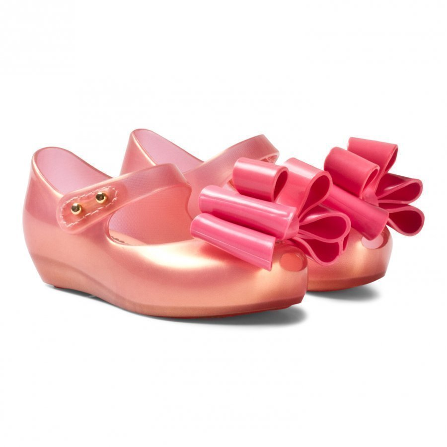 Mini Melissa Mini Ultragirl Sweet Iii Pink Ballerinat