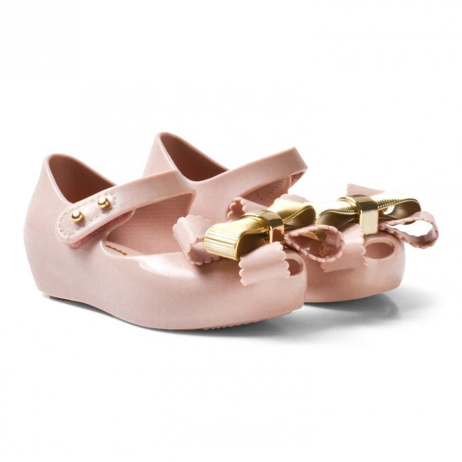 Mini Melissa Mini Ultragirl Sweet Iv Pink Ballerinat