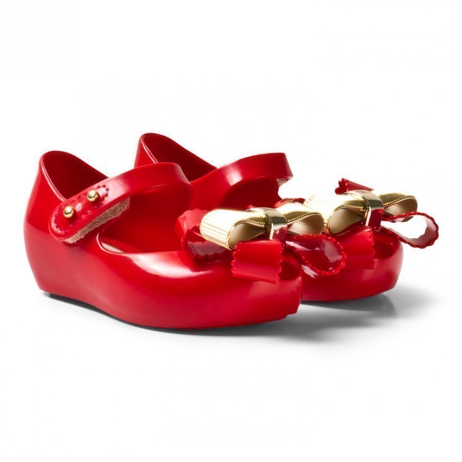 Mini Melissa Mini Ultragirl Sweet Iv Red Ballerinat