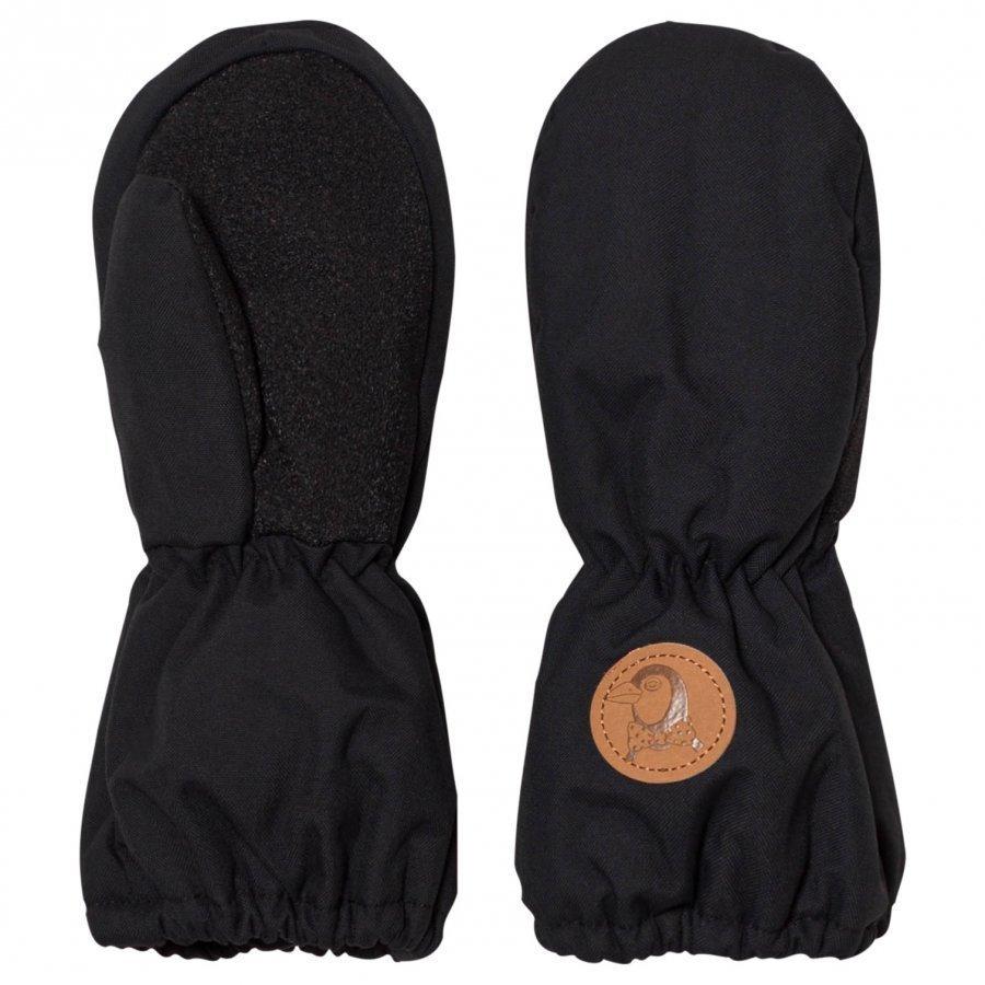 Mini Rodini Alaska Glove Black Hanskat