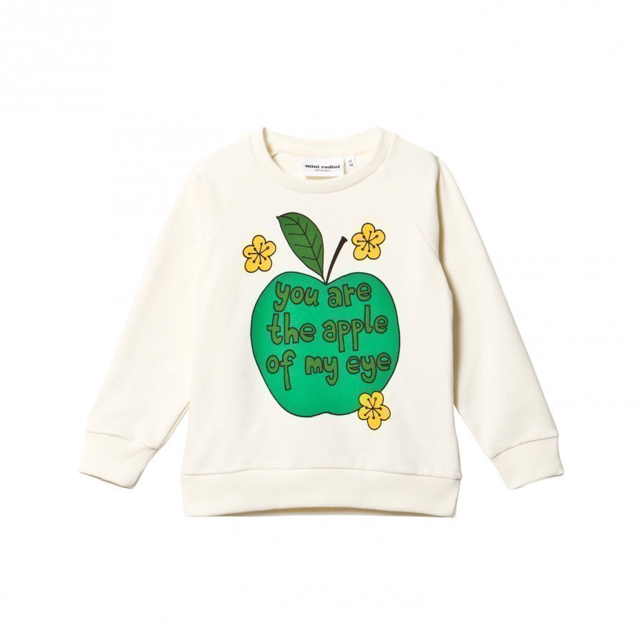Mini Rodini Apple Sweatshirt Green Oloasun Paita