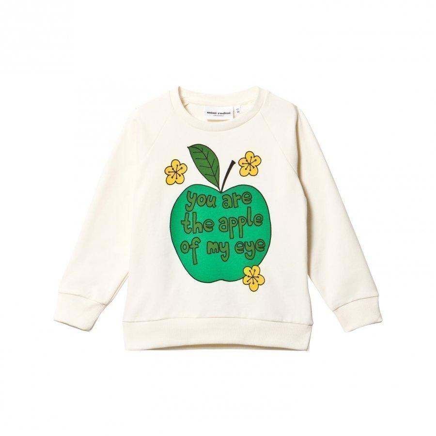 Mini Rodini Apple Sweatshirt Green Oloasun Paita