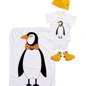 Mini Rodini Baby Kit 2: Body Hattu Peitto Ja Tossut