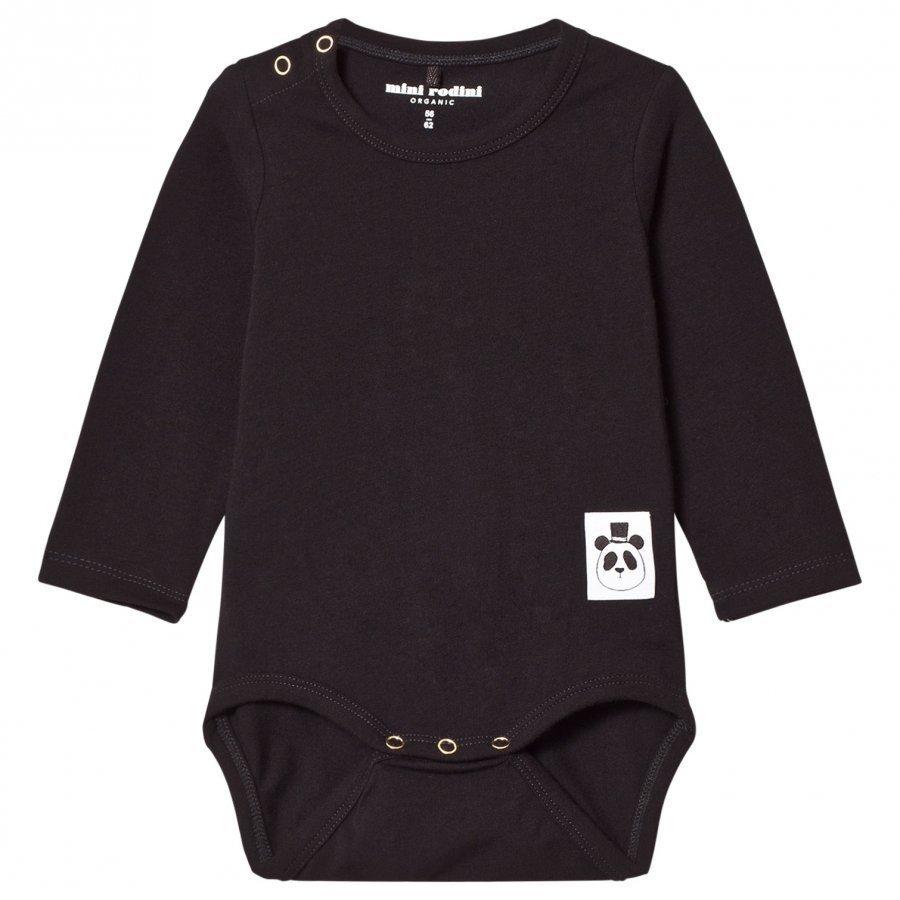 Mini Rodini Basic Baby Body Black Body