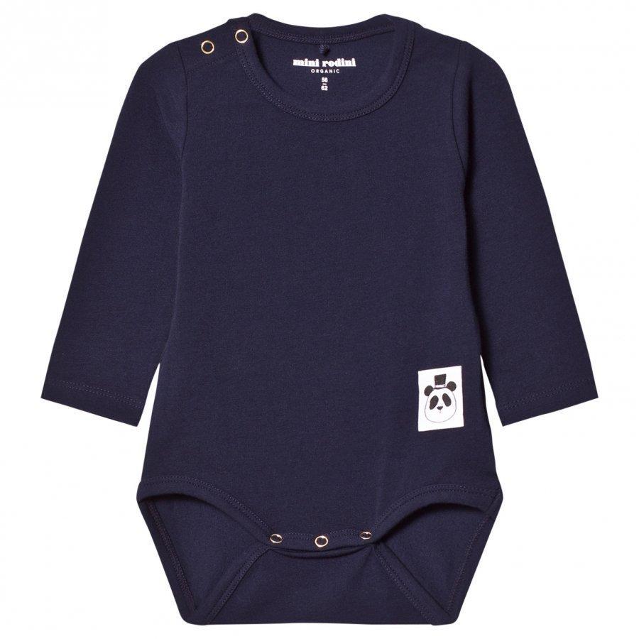 Mini Rodini Basic Baby Body Navy Body