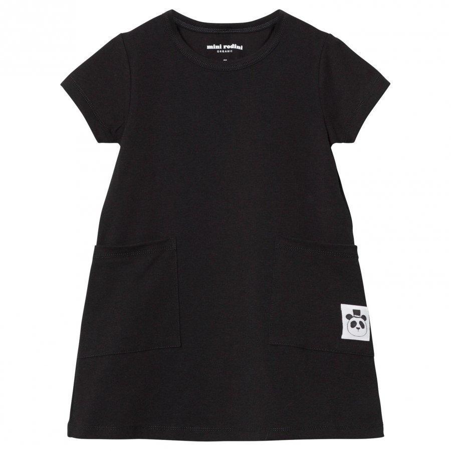 Mini Rodini Basic Dress Black Mekko
