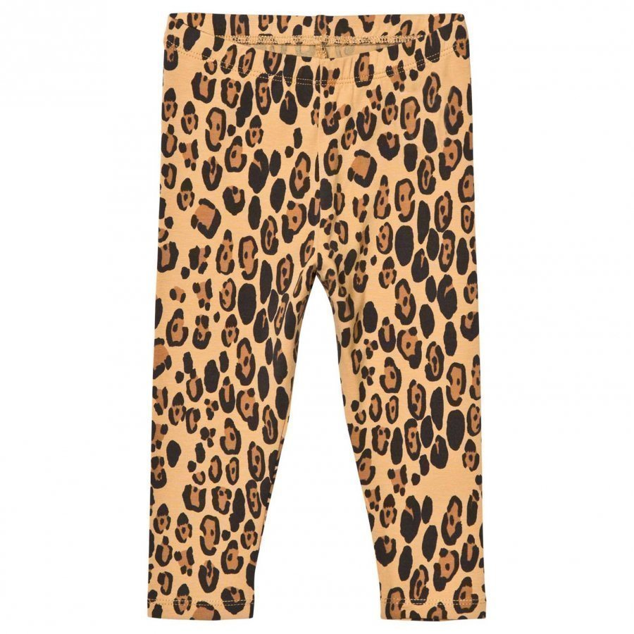 Mini Rodini Basic Leopard Leggings Beige Legginsit