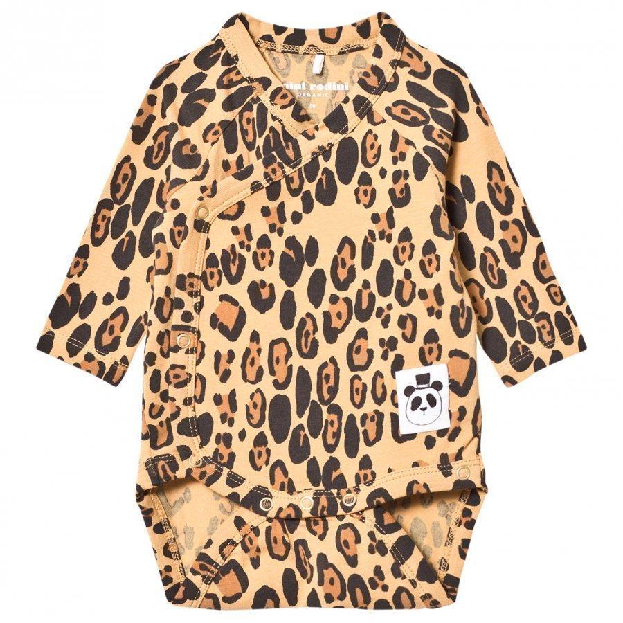 Mini Rodini Basic Leopard Wrap Body Beige Body