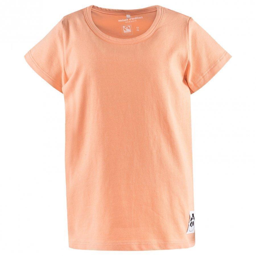 Mini Rodini Basic Ss Tee Pink T-Paita