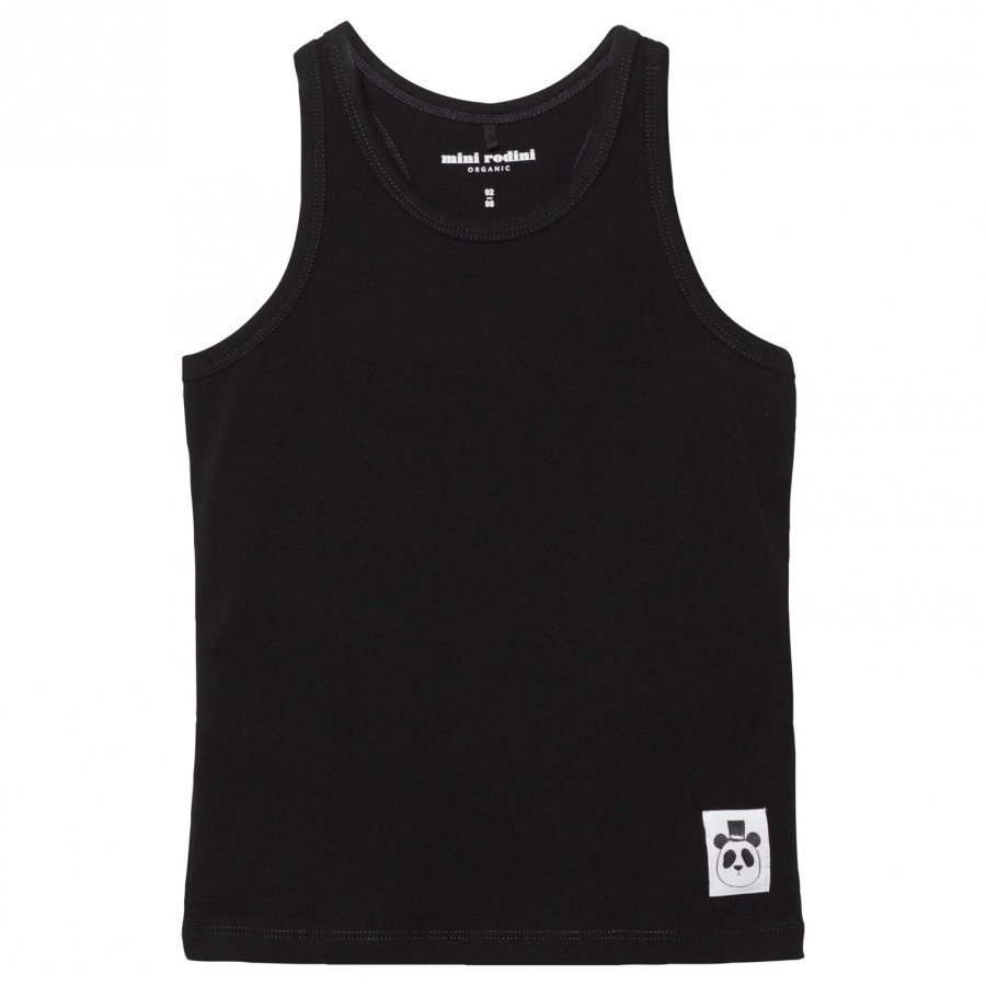Mini Rodini Basic Tank Black Liivi