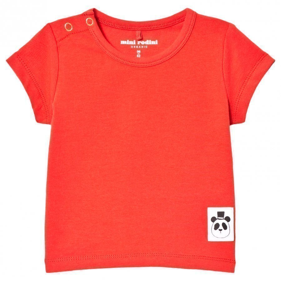 Mini Rodini Basic Tee Red T-Paita