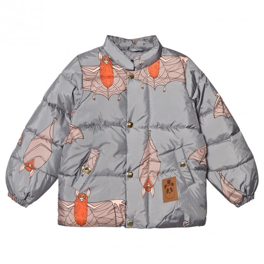 Mini Rodini Bat Puffer Jacket Grey Toppatakki