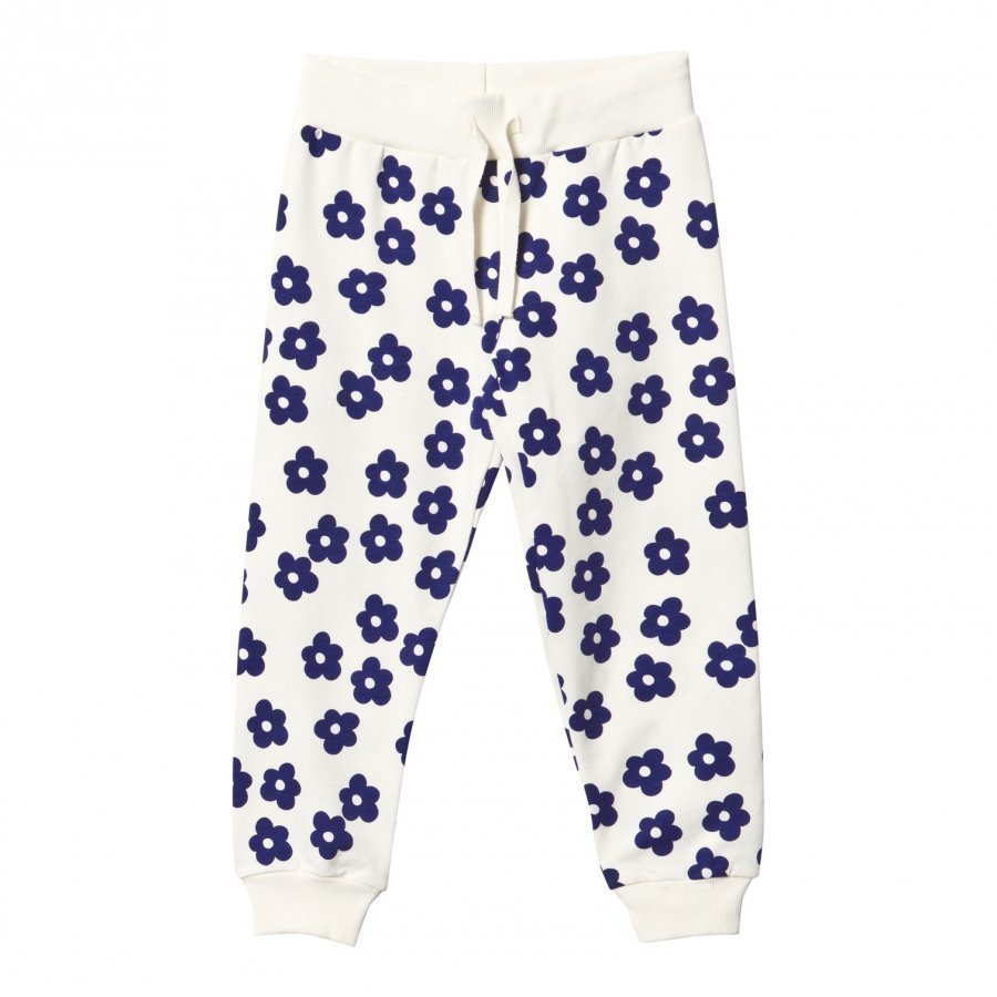 Mini Rodini Blossom Sweatpants Off White Verryttelyhousut