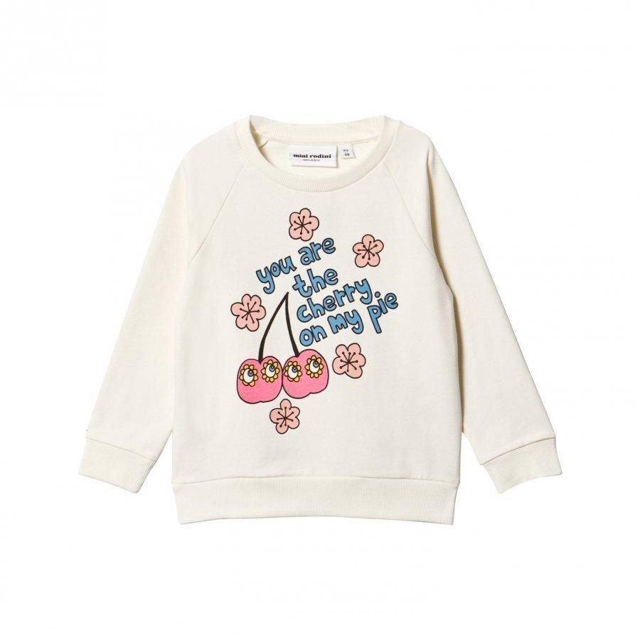 Mini Rodini Cherry Sweatshirt Pink Oloasun Paita