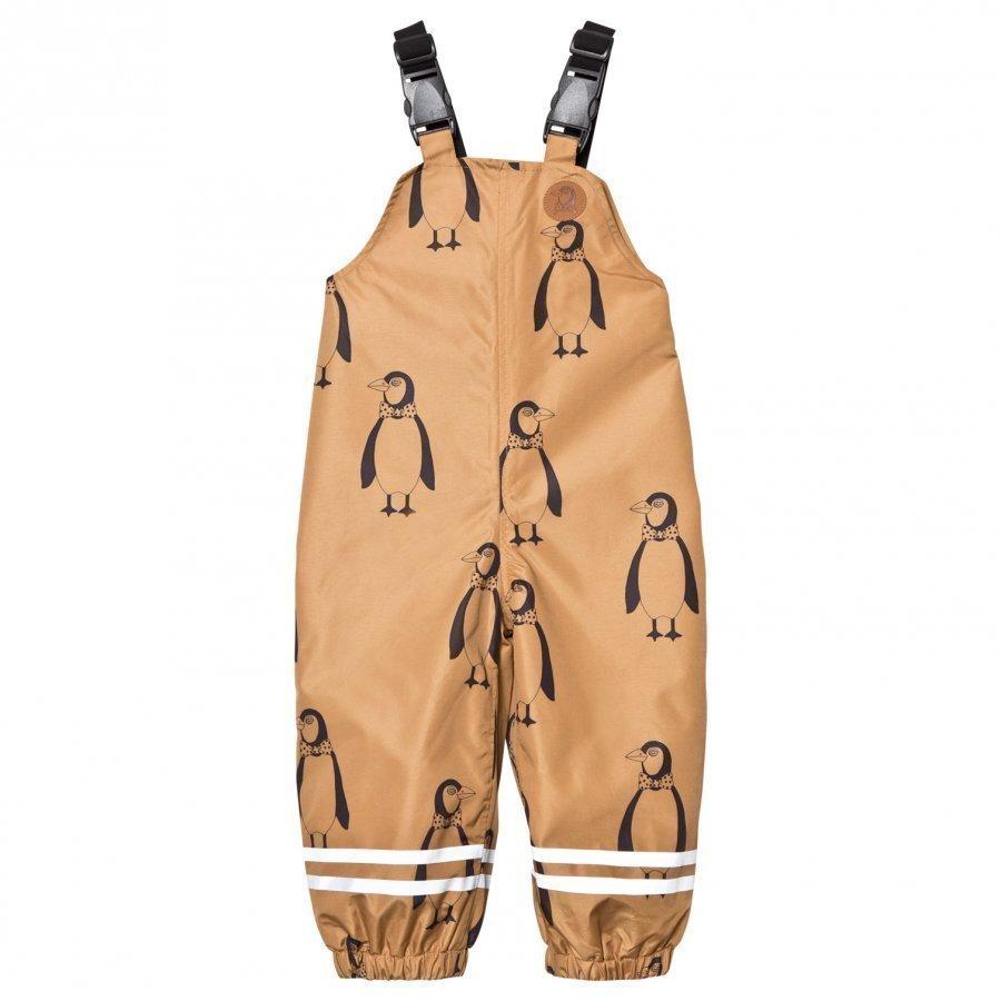 Mini Rodini Edelweiss High Trousers Brown Sadehousut