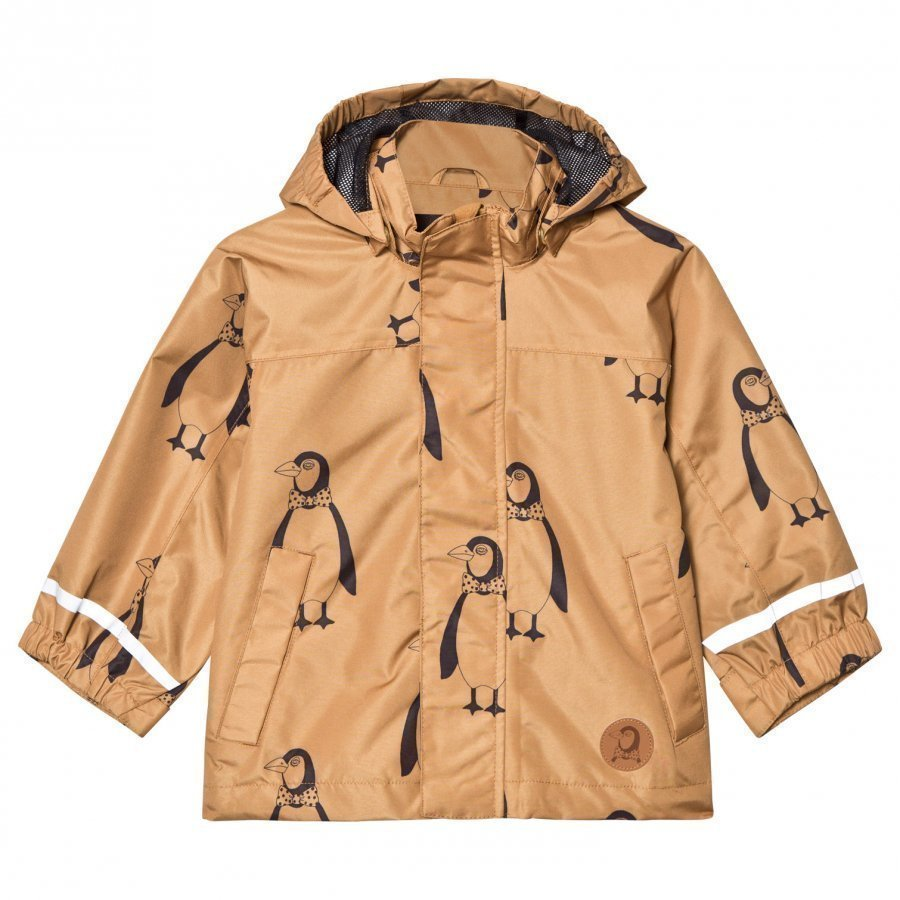 Mini Rodini Edelweiss Jacket Brown Kuoritakki