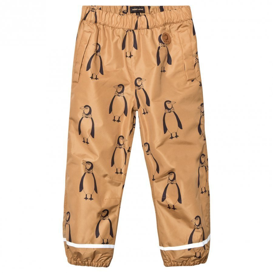 Mini Rodini Edelweiss Low Trousers Brown Sadehousut