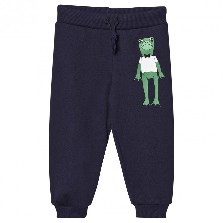 Mini Rodini Frog Sweatpants Navy Verryttelyhousut