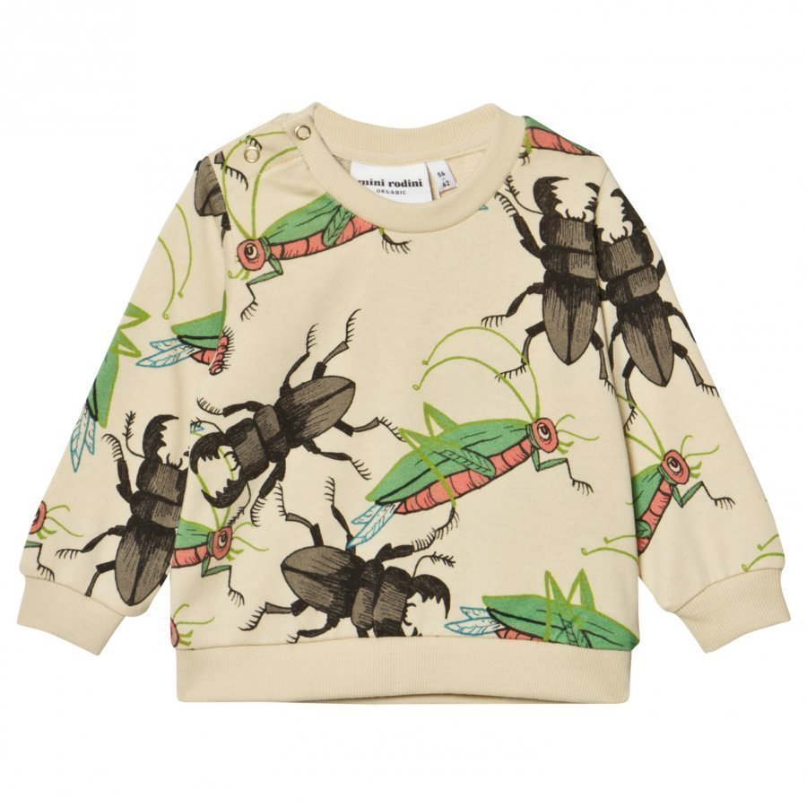 Mini Rodini Insects Sweatshirt Beige Oloasun Paita