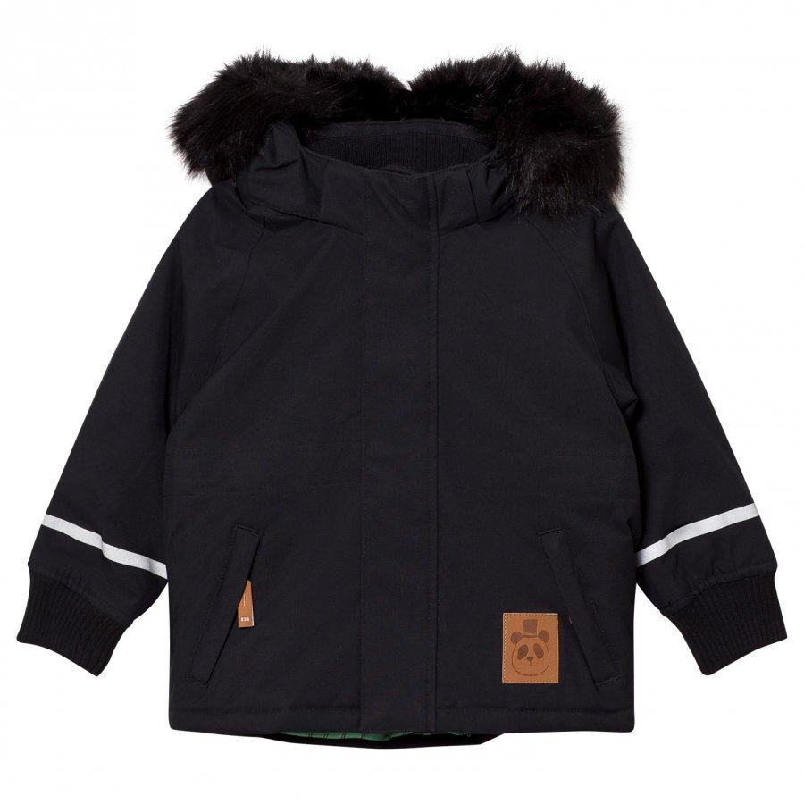 Mini Rodini K2 Fox Family Parka Black Parkatakki