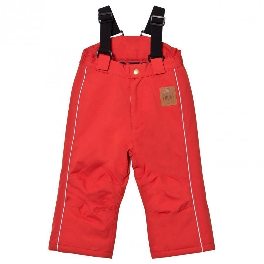 Mini Rodini K2 Trousers Red Toppahousut