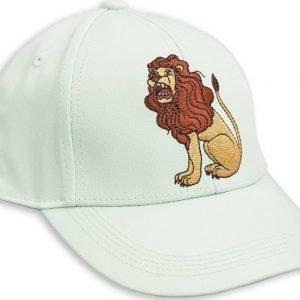 Mini Rodini Lion Emb Cap Lippis