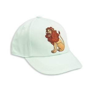 Mini Rodini Lion Embroidered Hattu