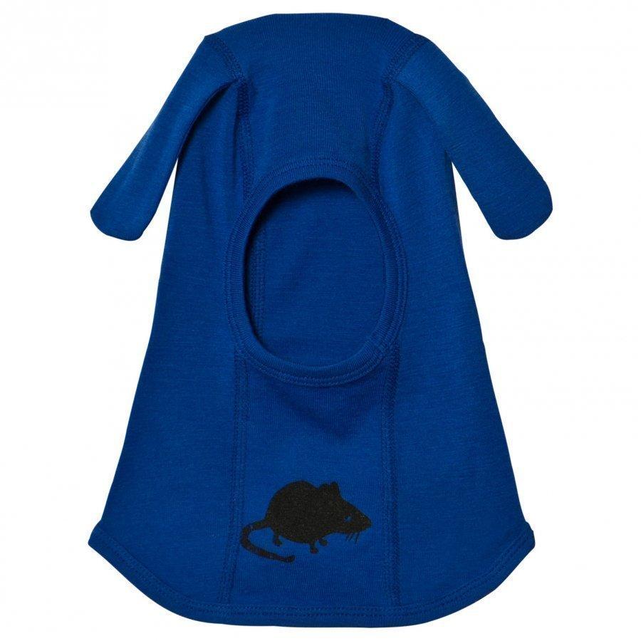 Mini Rodini Mr Mouse Wool Balaclava Blue Kypäräpipo