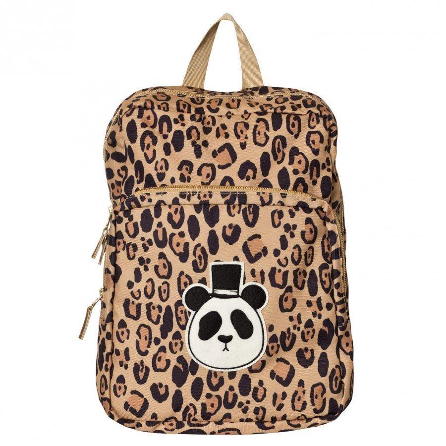 Mini Rodini Panda Backpack Beige Reppu