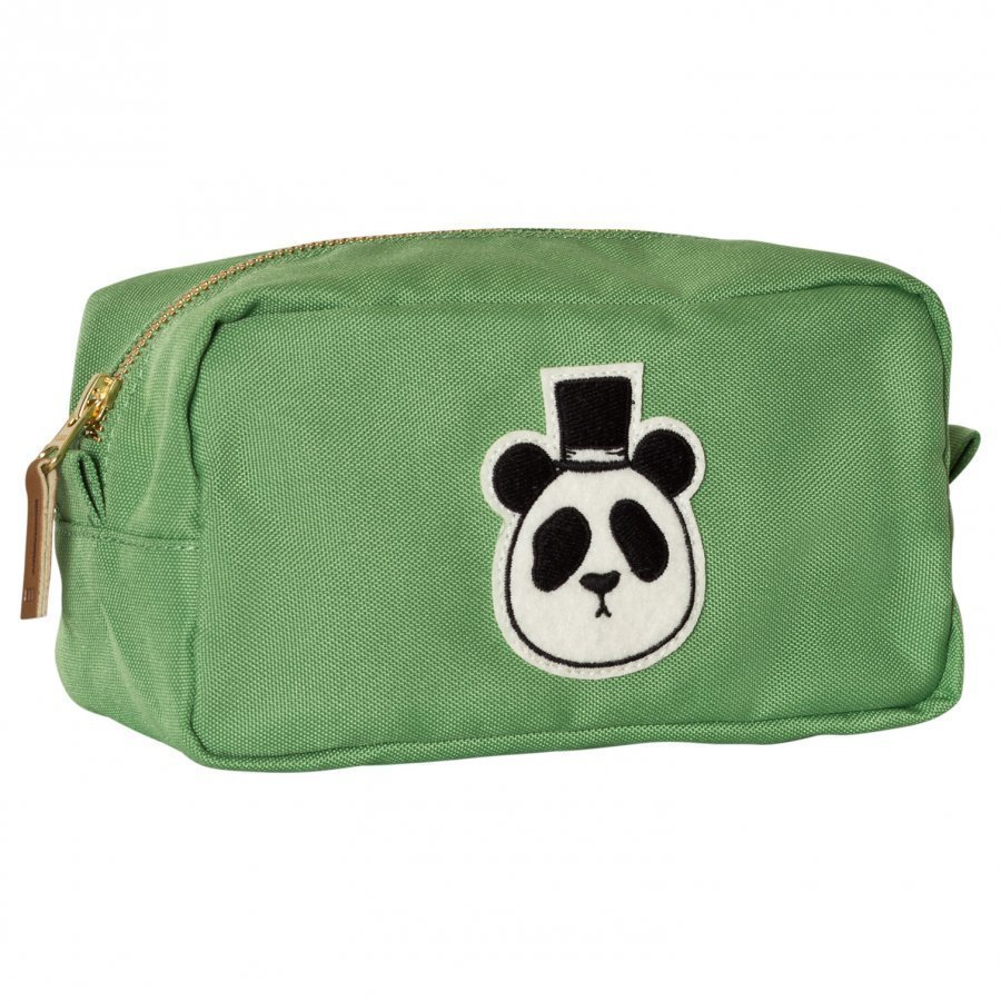 Mini Rodini Panda Case Green Penaali